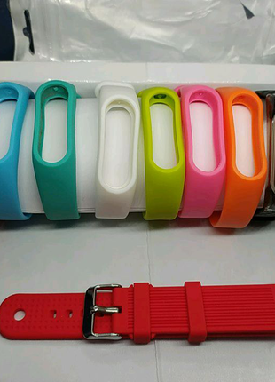 Xiaomi Mi Band 2 ремешок 24 белых