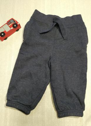 Штаны на 9-12 м. спортивные штаны