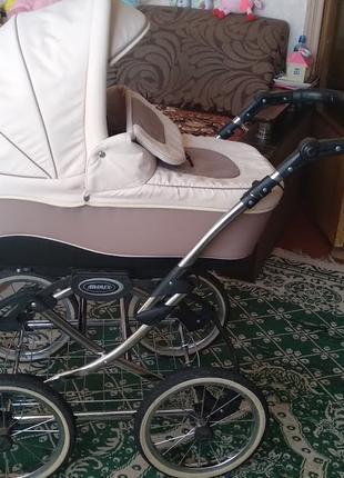 Универсальная коляска Adamex 2 в 1. Полная комплектация + ПОДАРОК