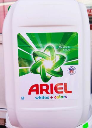 Ariel white + colors гель