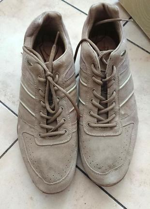 Замшевые кроссовки boras