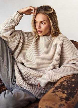 Крутейший маст хэв свитер оверсайз
