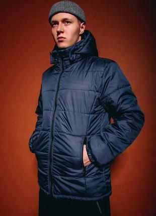 Базовая теплая  мужская куртка