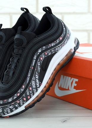 Кроссовки Nike Air Max 97 Just Do it Pack Black