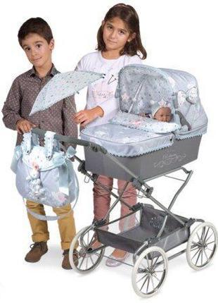 Decuevas reborn martin 82029 коляска для кукол с зонтиком
