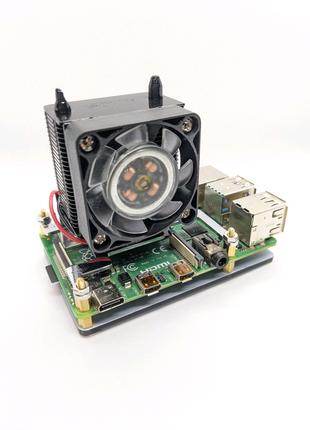 Охлаждение ICE Tower для Raspberry Pi 4B, 3B+, 3B.