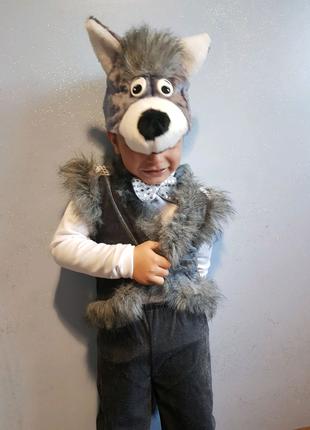 Дам на прокат очень классный костюм волка
