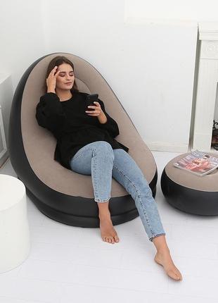 Кресло и пуф надувные Jilong