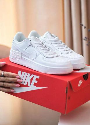 Nike air force white fur (с мехом)  bsd