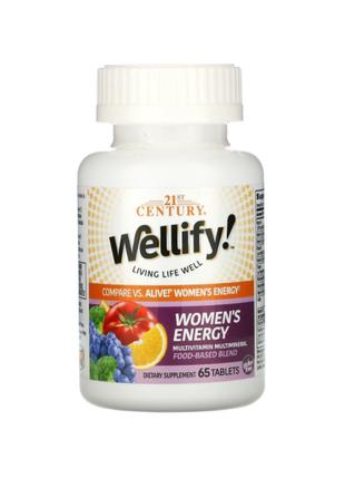 21st Century, Wellify, мультивитамины и мультиминералы для женщин