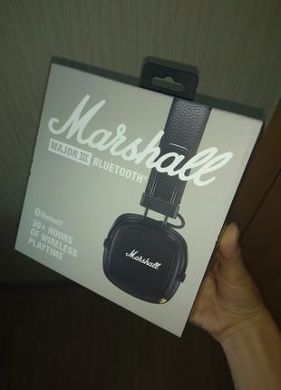 Marshall Major 3 Bluetooth Новые не распакованные Black