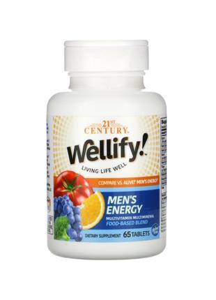 21st Century, Wellify, мультивитамины и мультиминералы для мужчин