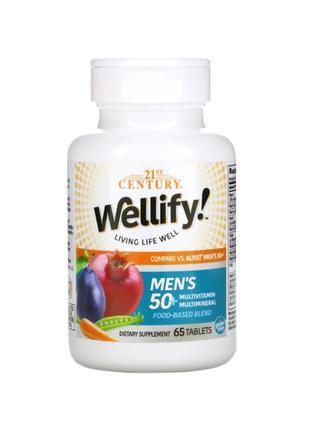 21st Century, Wellify, мультивитамины для мужчин 50+