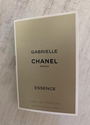 Пробник парфюмированной воды chanel gabrielle essence
