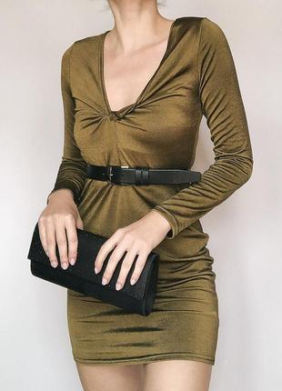 Обалденное эффектное платье boohoo