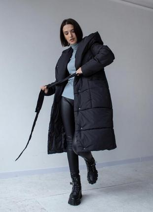 Женский пуховик на зиму