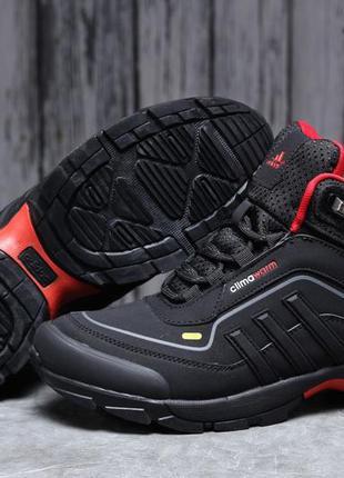 ► adidas climawarm 350, черные зимние мужские кроссовки 31712