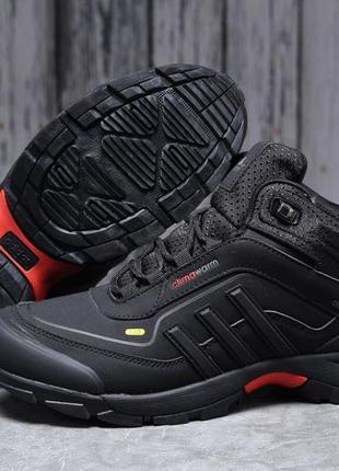► adidas climawarm 350, черные зимние мужские кроссовки 31711