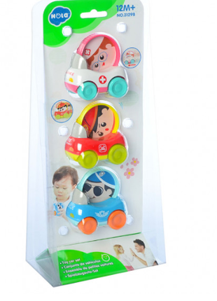 Набор детских машинок спецтехники