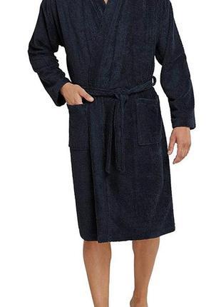 Роскошный тёплый хлопковый махровый халат, пушистый ворс, schi...
