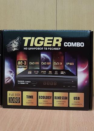 Спутниковый тюнер TIGER COMBO DVB-S2-T2-C IPTV