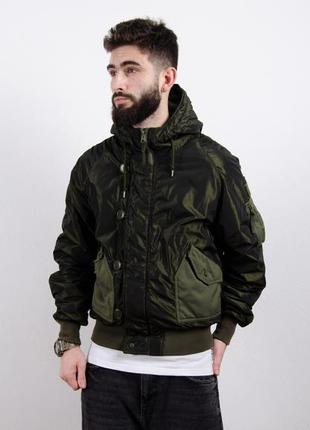 Alpha industries ma 1 куртка утепленный бомбер пилотный военны...