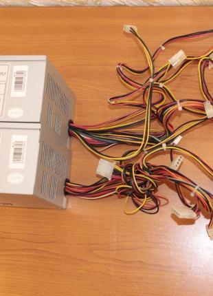 Бу рабочий блок питания ISO ISO-450PP 350w P4, 20+4pin, w/Sata...
