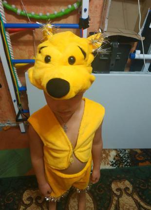 Новогодний карнавальный костюм мишки, медведя, винни пуха на 3...