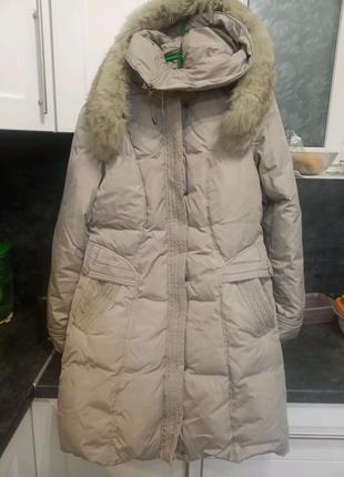Женское пальто пуховик ХХL