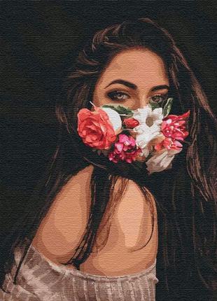 """Картина по номерам """"Цветочное дыхание"""" ★★★★"""