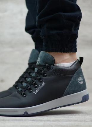 Мужские кожаные ботинки t18 ч.с