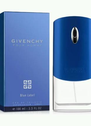 Мужская туалетная вода Givenchy Blue Label 100 мл
