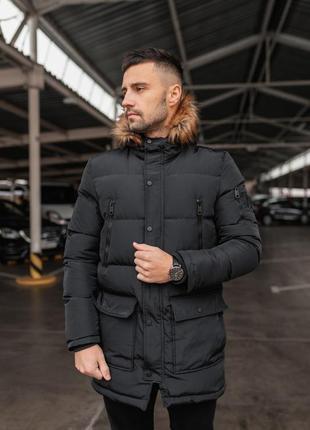 Куртка зимняя арктика черная
