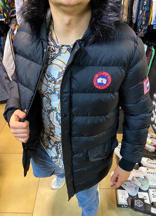 Мужская куртка canada goose со скидкой