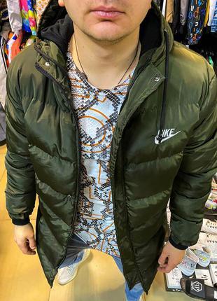 Мужская куртка nike длинная