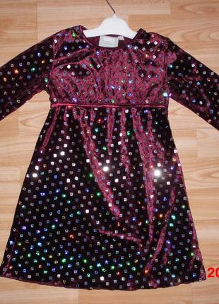 Нарядне плаття на ріст 92 см.kappahl