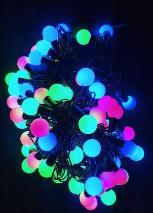 Профессиональная гирлянда-шар,LED гирлянда,гирлянда на елку,дл...