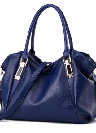 Сумка женская синяя