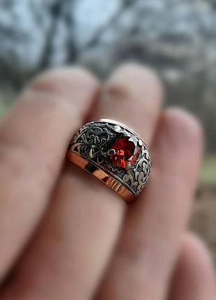 17 размер кольцо серебро