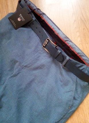 Элегантные мужские летние брюки gant