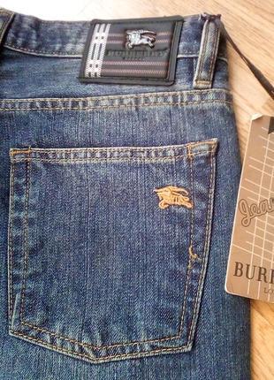 Мужские плотные джинсы burberry