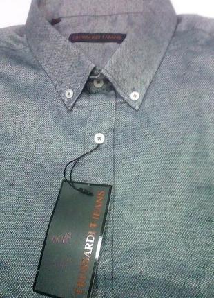 Теплая мужская рубашка trussardi