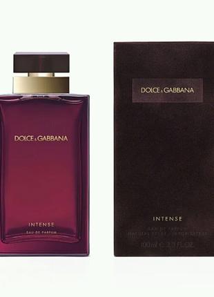 Женская парфюмированная вода Dolce & Gabbana Pour Femme Intense