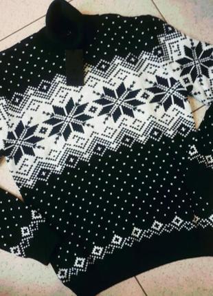 Мужской теплый шерстяной свитер мсl
