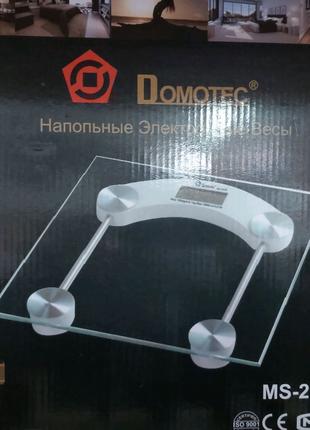 Электронные Напольные весы Domotec