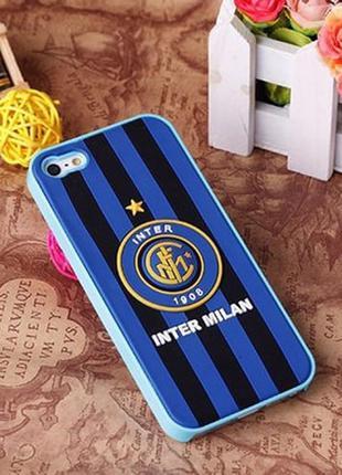 Пластиковый чехол Football FC Inter для iPhone 5/5s