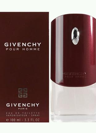 Мужская туалетная вода Givenchy Pour Homme 100