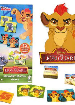 Настольная игра на память Memory Lion Guard Disney Львиная Стража