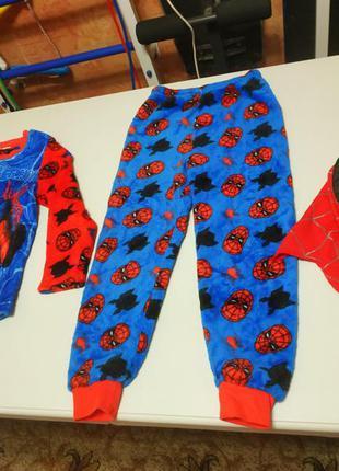 Новогодний карнавальный костюм человек паук, spider man на 6-7...