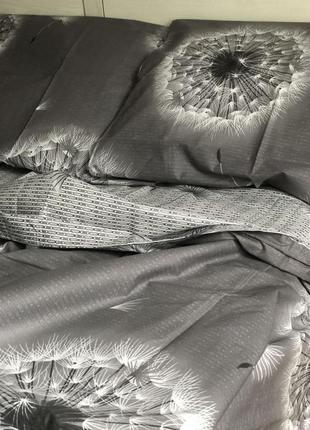 """3d комплект постельного белья """"одуванчики"""", есть все размеры, ..."""